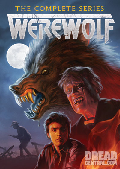 Werewolf: The Series DVD Cover Art!