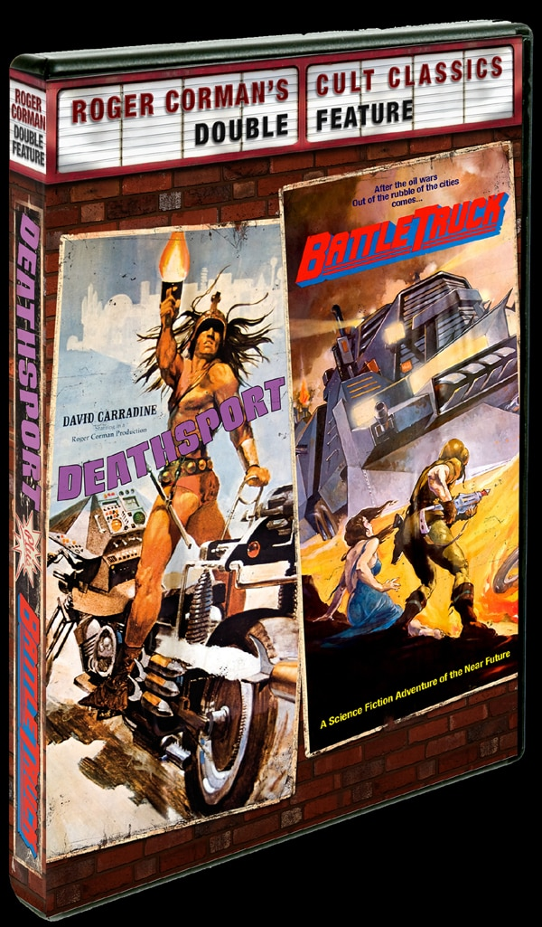 Roger Corman's  Deathsport and BattleTruck Explode on to DVD