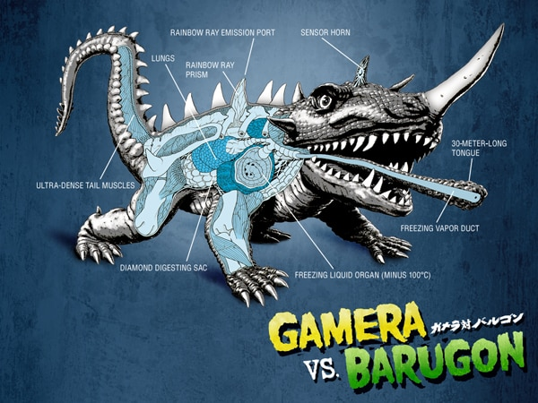 Dress Your PC and Mac with Classic Gamera Wallpapers! More DVD News!