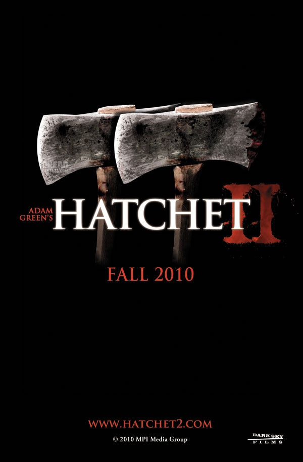 Two New Teaser Posters: Hatchet II