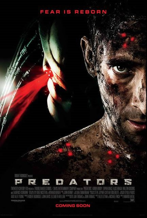 Three International Posters - Predators
