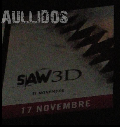 International Saw VII 3D Teaser Poster