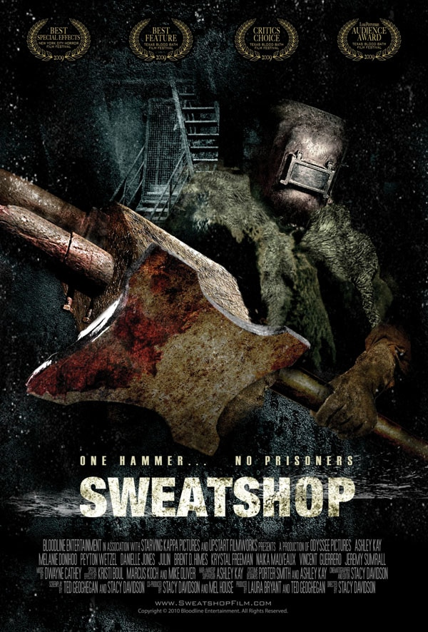 International Artwork and Trailer Debut for Sweatshop