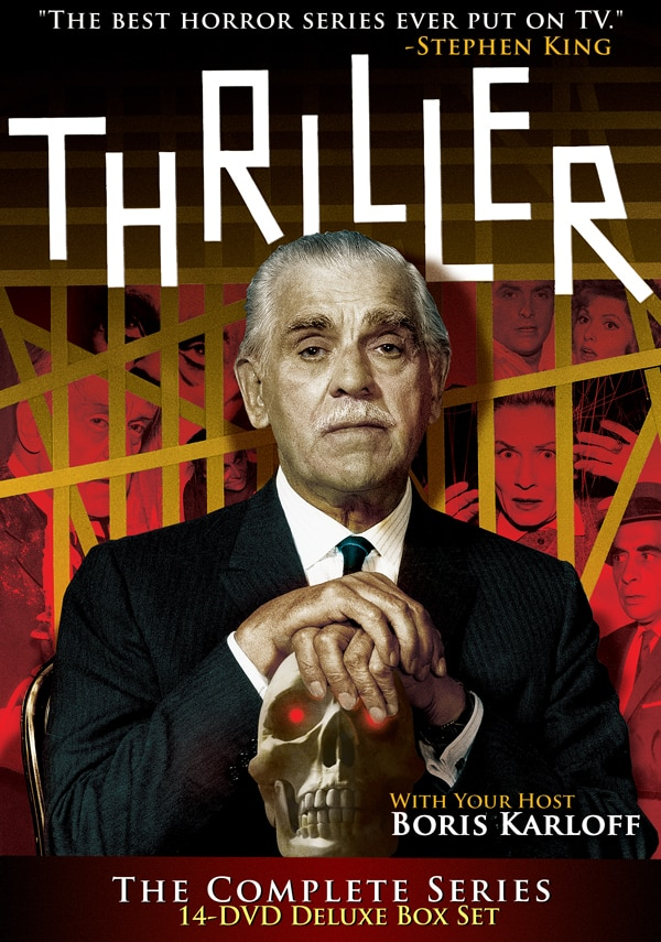 Boris Karloff  Rejoice! Image Entertainment is Finally Bringing Us Home Thriller!