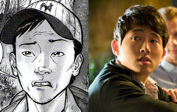 Steven Yeun: The Walking Dead