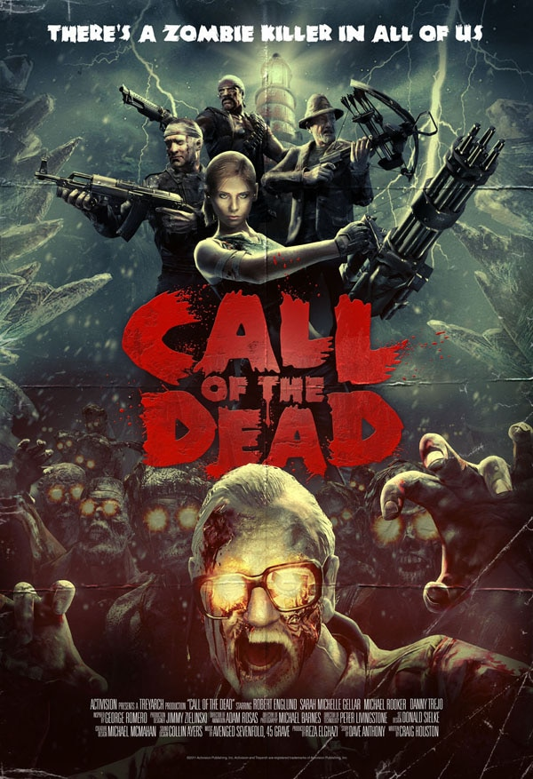 Win a Badass Call of Duty: Black Ops Call of the Dead  One-Sheet (click for larger image)
