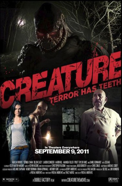 Creature Proves Blood is Blood and Gets a New One-Sheet and Trailer