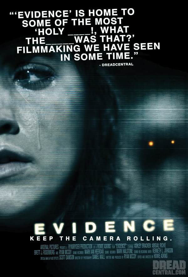 Exclusive New One-Sheet Debut - Evidence