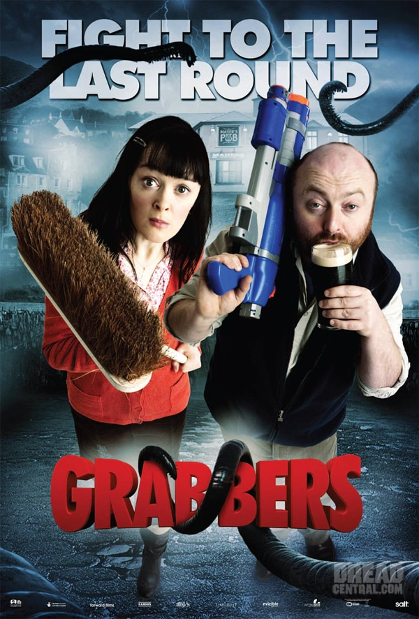 New Grabbers Artwork Has a Lot of Character