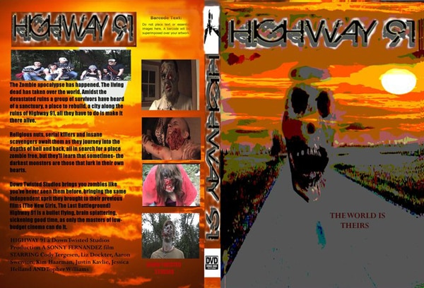 Indie Zombie Film Highway 91 Now Available on DVD