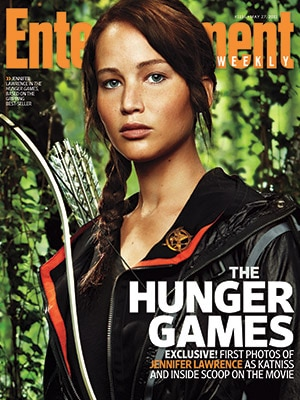 A Sneak Peek of Jennifer Lawrence as The Hunger Games' Katniss Everdeen