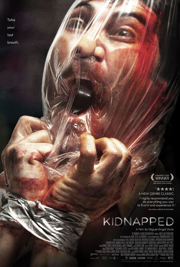 New One-Sheet and Proper Trailer for IFC's Kidnapped