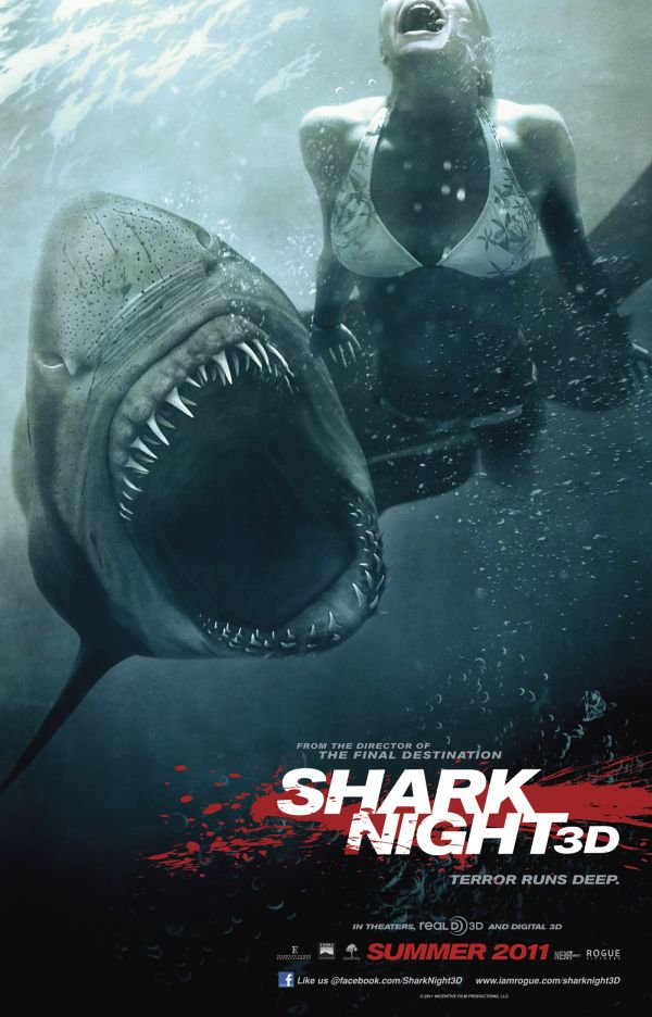 Exclusive New Shark Night 3D TV Spot - Just When You Thought it Was Safe to Visit this Website!