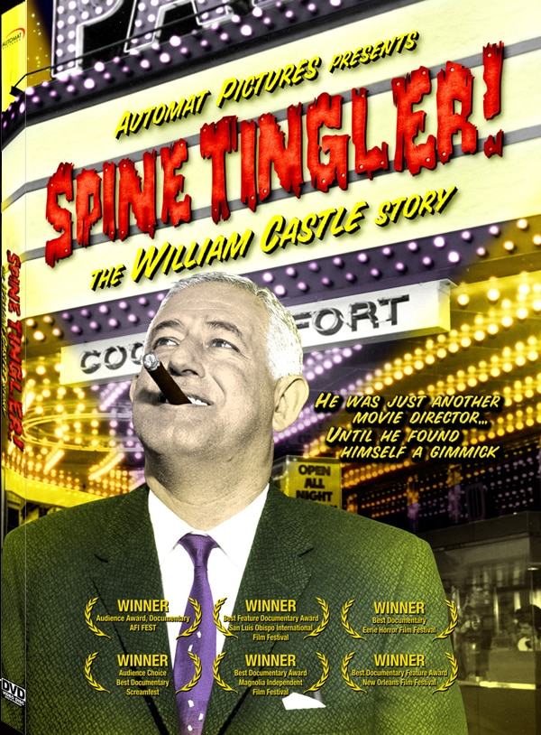 Automat Pictures Announces SPINE TINGLER! The William Castle Story Special Edition DVD