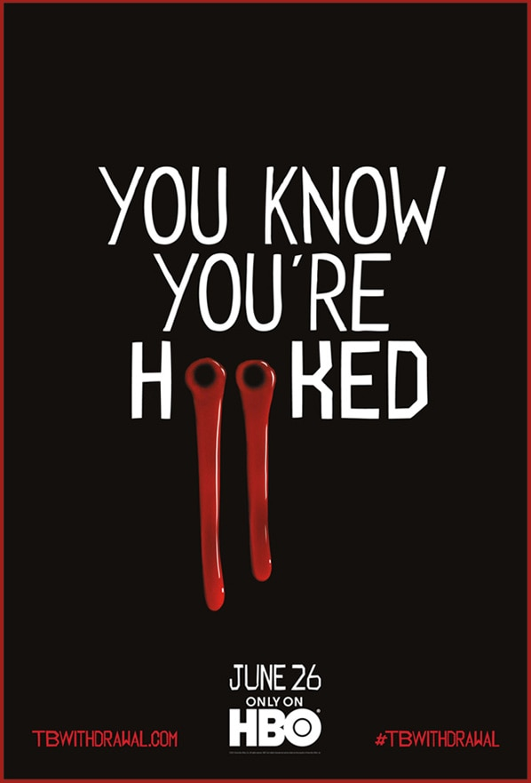 Teaser Poster for True Blood Season Four - Feed Your Addiction