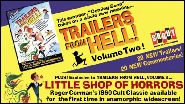Trailers from Hell Volume 2 Available for Pre-Order