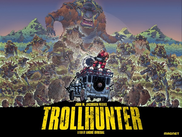 Amazing New Comic Inspired Troll Hunter One-Sheet (click for larger image)