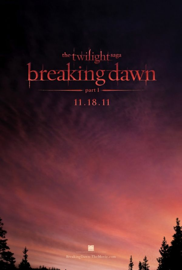 Teaser One-Sheet Debut: The Twilight Saga: Breaking Dawn Part 1