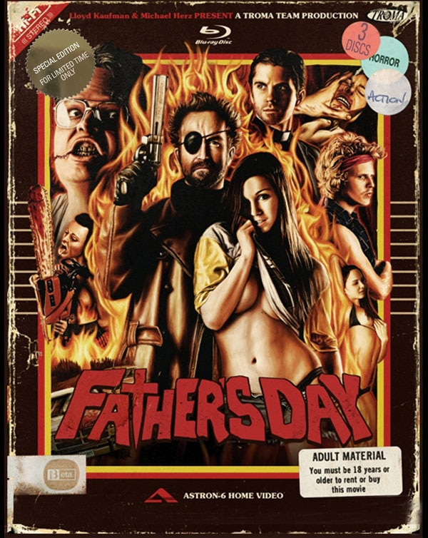 Filmmakers Astron 6 to Attend Screening of Their Film Father's Day to Celebrate Father's Day