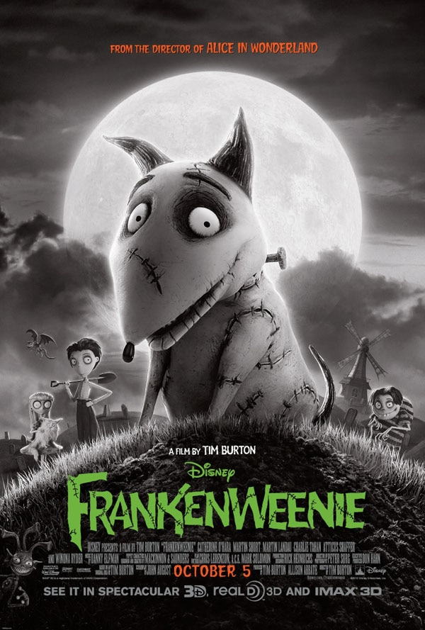 Two New Frankenweenie TV Spots Funk up Your Friday!