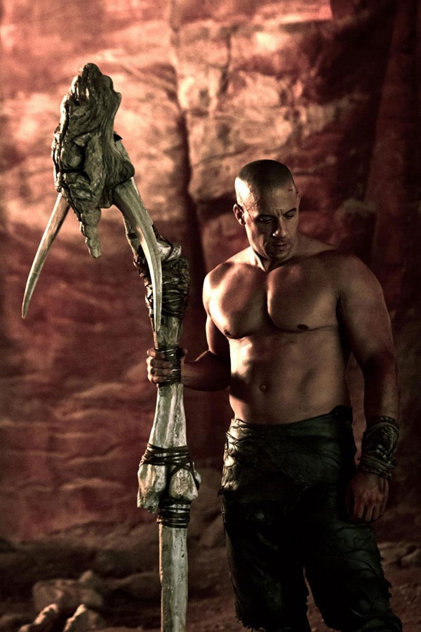 Vin Diesel Brings the Beefcake in Latest Riddick Still