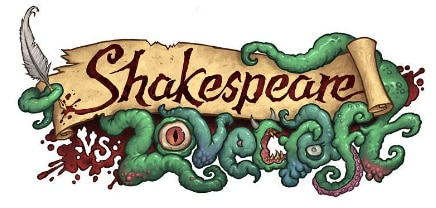 New Horror-Comedy Mash-Up Novella Shakespeare vs. Lovecraft Now Available
