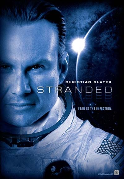 New Stranded Teaser Art Sends Christian Slater to Space