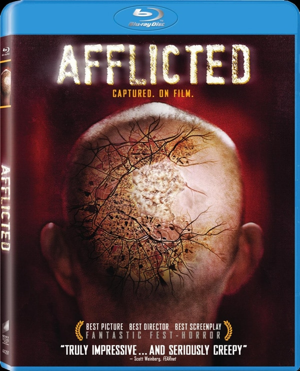 Afflicted Blu-ray