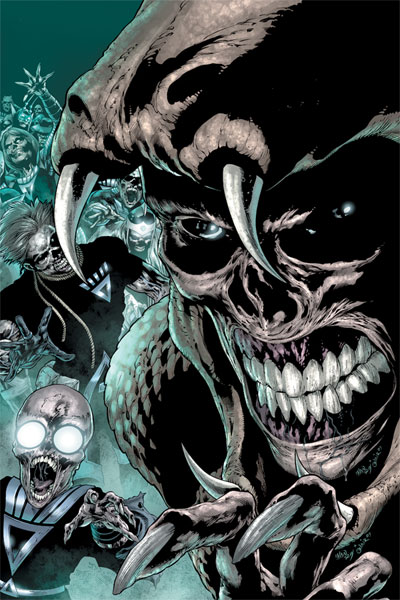 DC Comics to Explore the Blackest Night