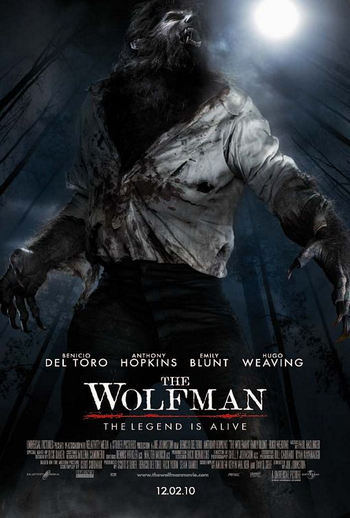 Badass New Wolfman One Sheet