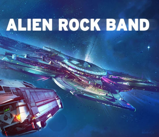Alien Rock Band