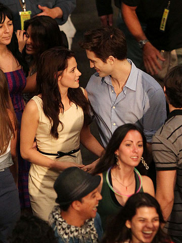 On-Set Photos from The Twilight Saga: Breaking Dawn