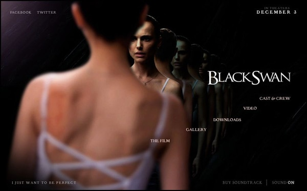 Official Black Swan Website Now Open. Look for Black Swan in theatres on