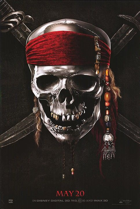 Teaser Art for Pirates of the Caribbean: On Stranger Tides Rears its Head