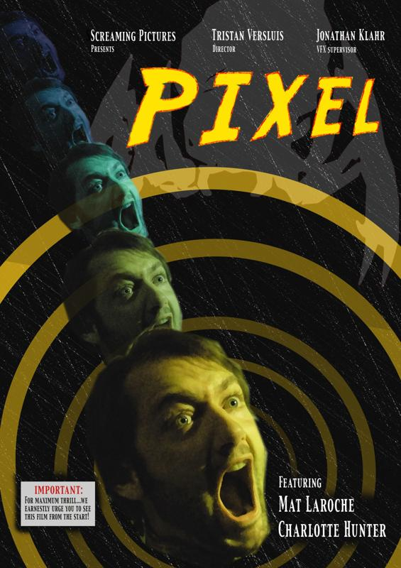 Trailer and Artwork for UK Short Film Pixel