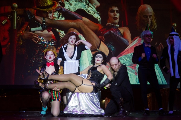 Rocky Horror Picture Show  - New Time Warp World Record! Pictures and Video!