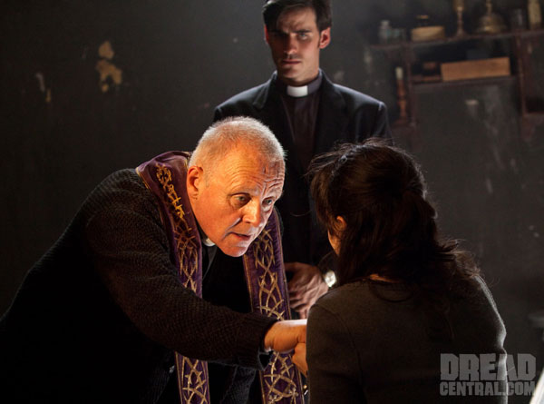 Anthony Hopkins Does God's Work in Latest Still from The Rite