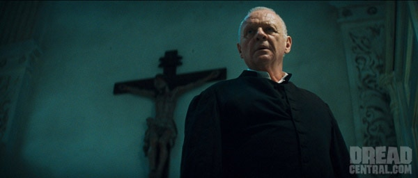 Anthony Hopkins Looking Ominous in New Image from The Rite (click for larger image)