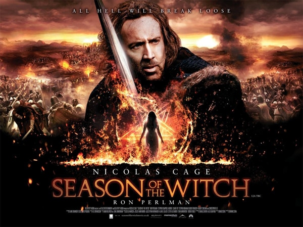 Season of the Witch Quad One-Sheet Debut