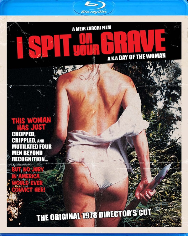 Anchor Bay Officially Announces Both I Spit on Your Grave Films for Blu-ray