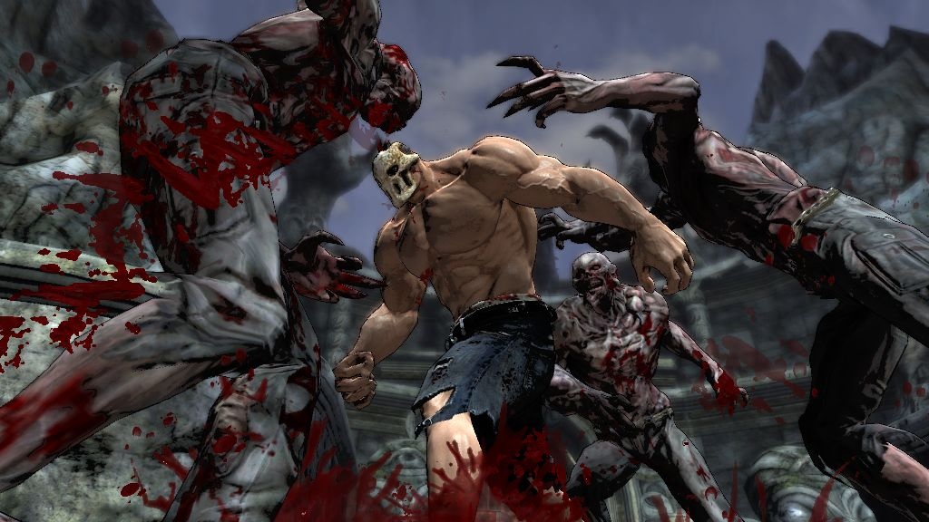 Splatterhouse Screenshots: Splatter Kills