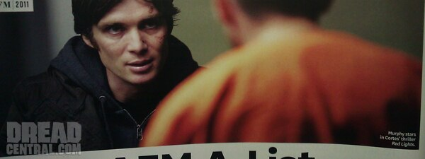 AFM 2011: Cillian Murphy Shines in First Image From Red Lights