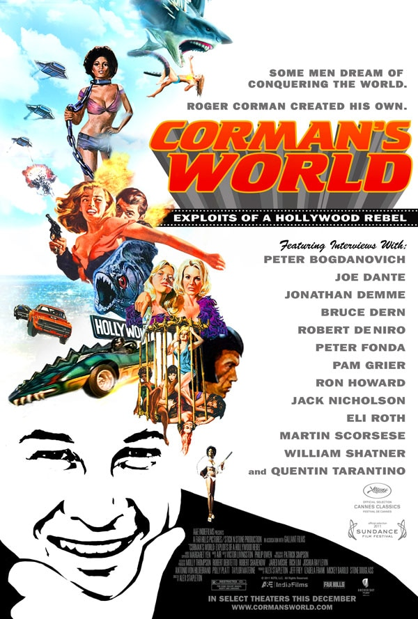 Rip-Roaring Trailer and Poster Arrive for Corman's World: Exploits of a Hollywood Rebel