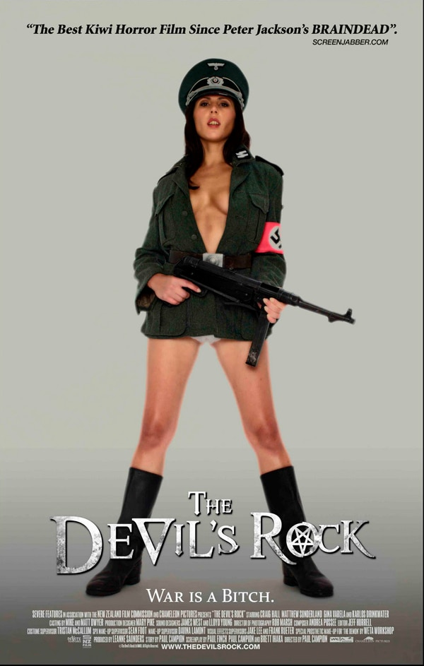 Horny New One-Sheets for The Devil's Rock