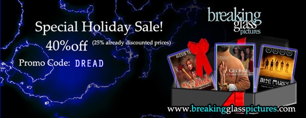Breaking Glass Pictures Giving Dread-Heads 40% Off All Month for the Holidays!