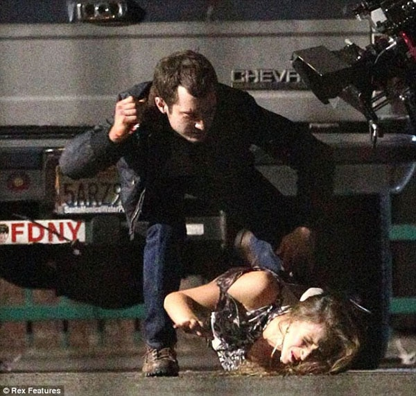 Elijah Wood Not Messing Around on the Set of Maniac