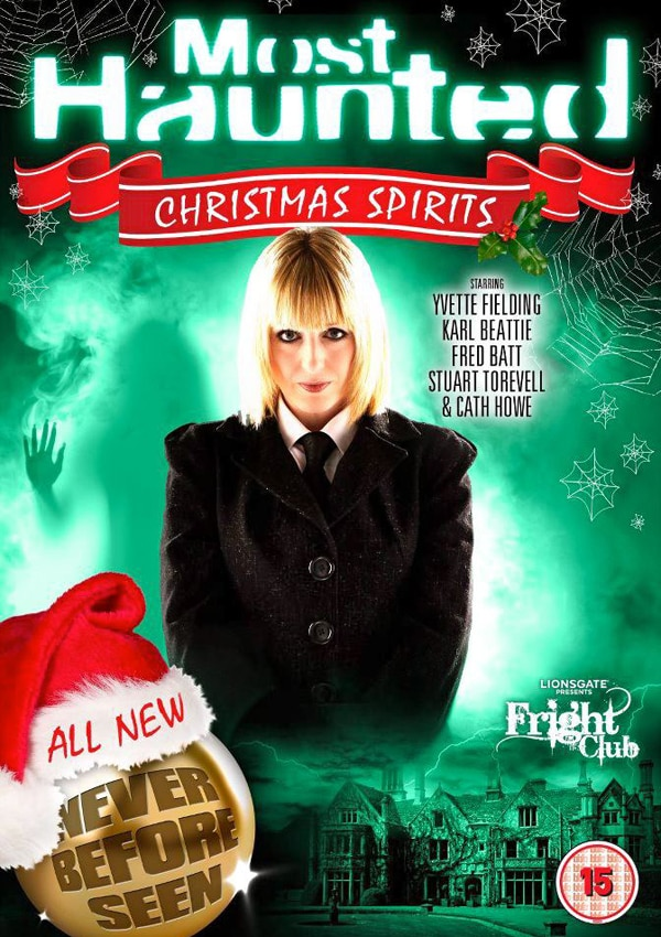 Paranormal Research Fans Rejoice! Most Haunted Returns With Christmas Spirits DVD