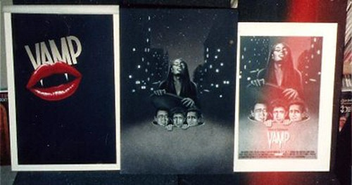 Uncovered Unused Artwork for The Fly, Vamp, and Fright Night!