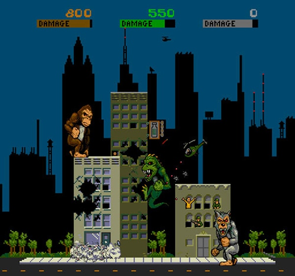 New Line Adapting Rampage Arcade Game into a Big Screen Monstrosity