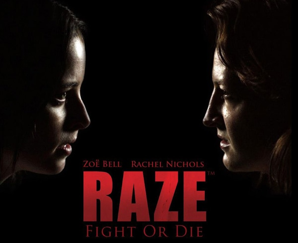 Zoë Bell and Rachel Nichols Ready to Fight or Die in Raze